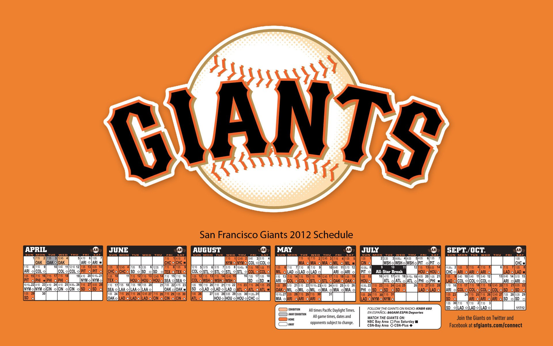 sf giants 2015 schedule wallpaper - wallpapersafari