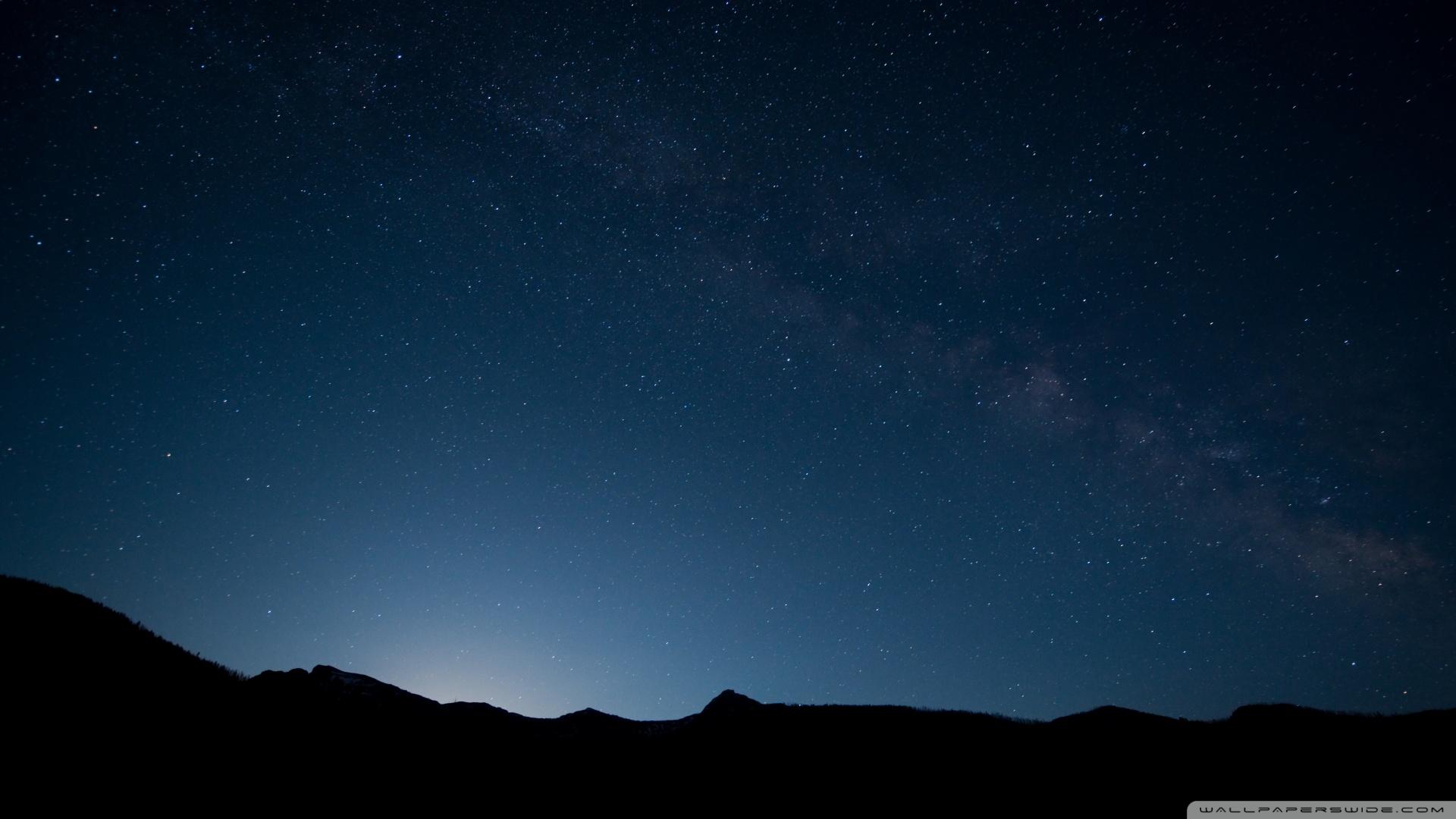 Night Sky Wallpaper   FREE DOWNLOAD HD WALLPAPERS 1920x1080