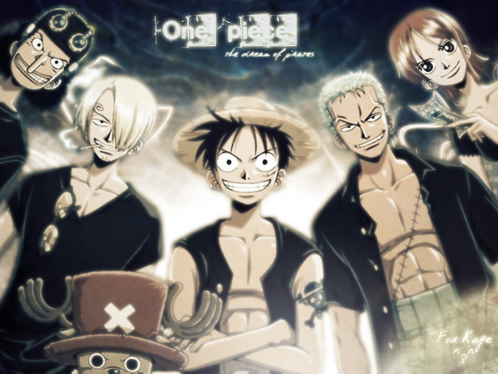 Wallpapers One piece 1024x768