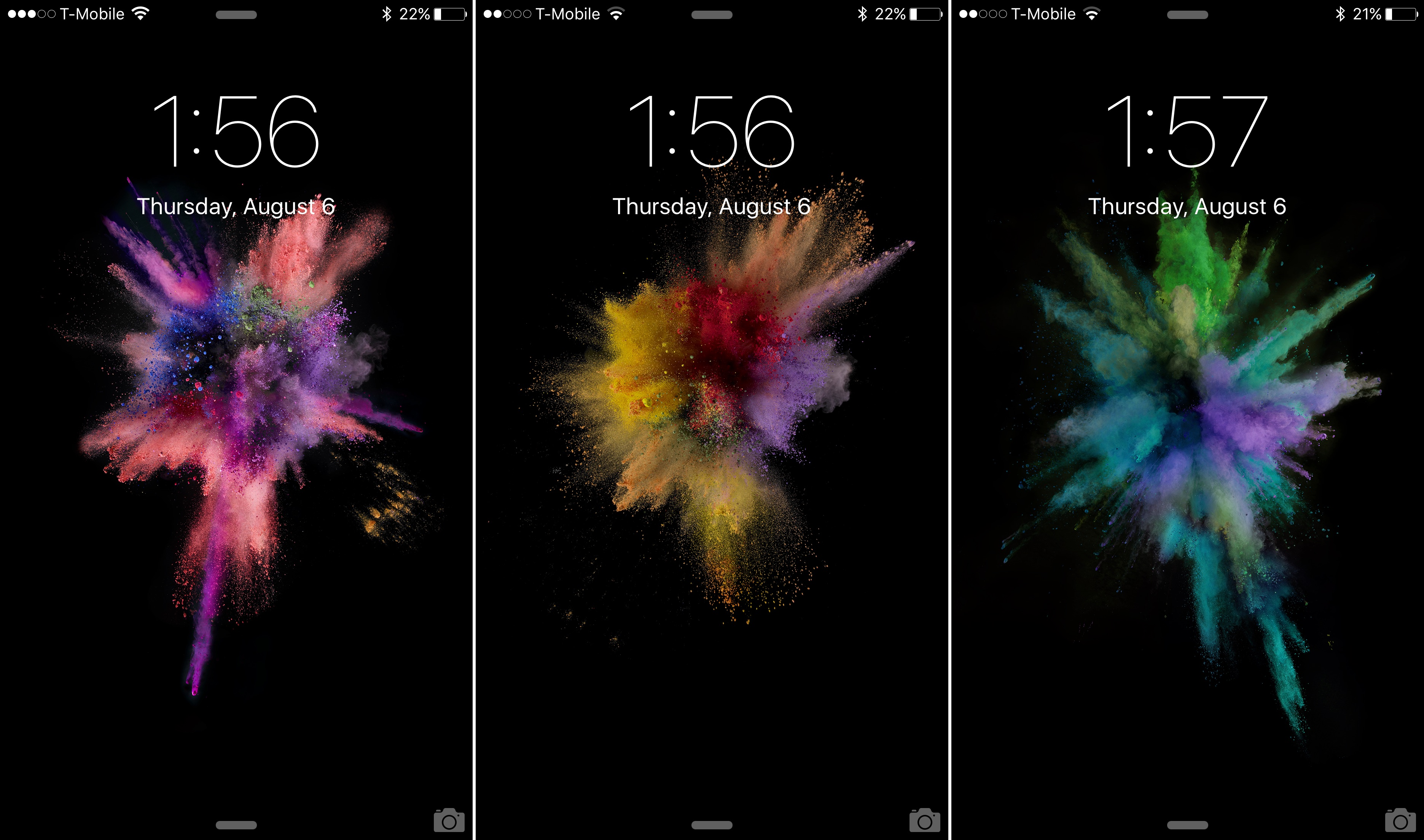 Download the new iOS 9 beta 5 wallpapers 3742x2208