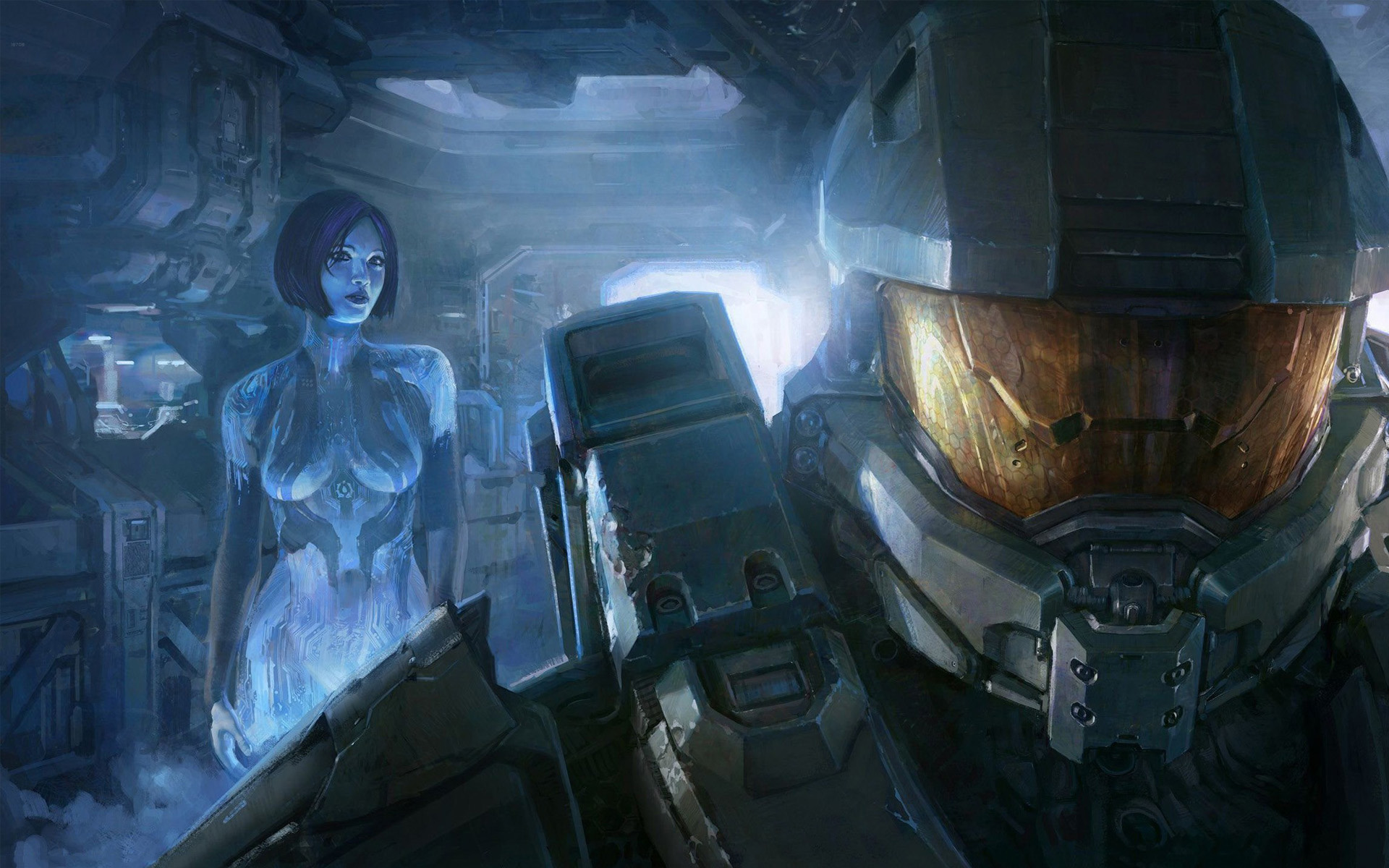 Halo 4 Master Chief And Cortana Wallpapers Halo Games Wallpapers Res 1920x1200