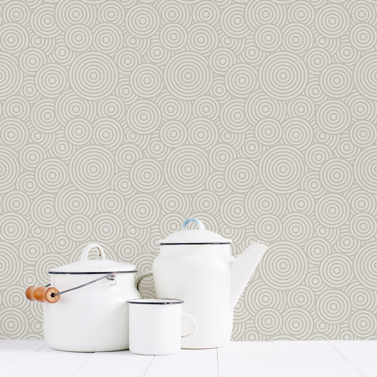 Swirl Removable Wallpaper Tile 1200x1200
