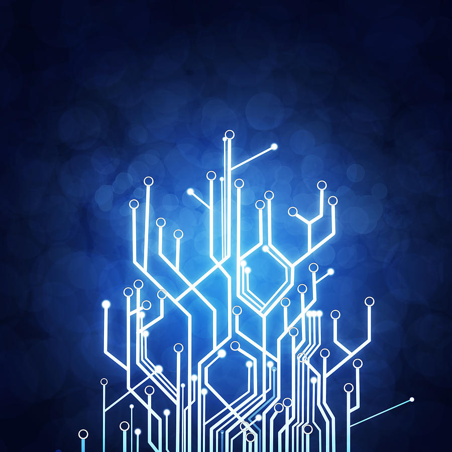 Blue Circuit Wallpaper Board Pattern Bluecircuit Choose The Image Below To Download It You Will Redirected 900x900 High Tech Hd Wallpapers
