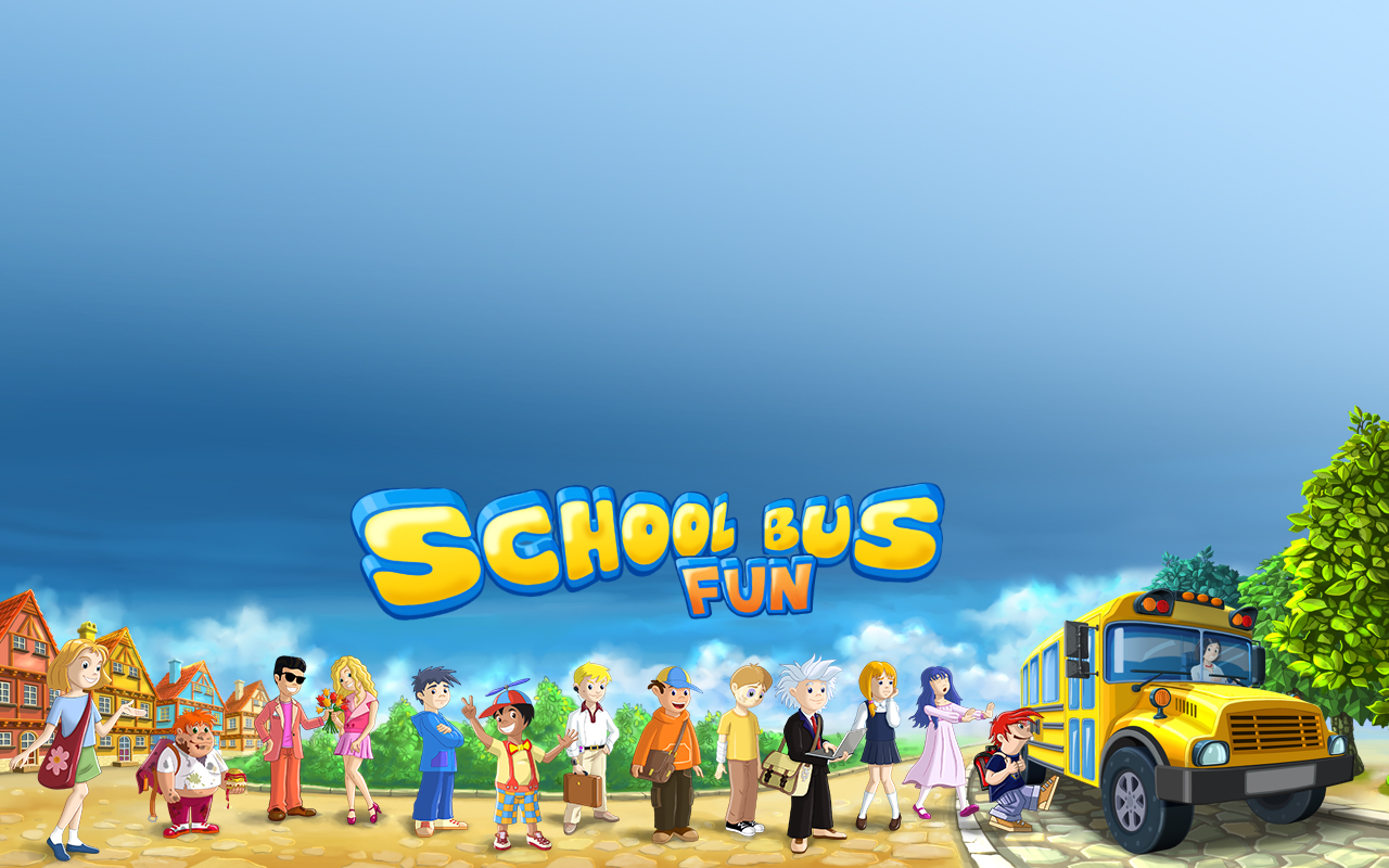 School Bus Fun School Bus Fun Desktop Wallpaper 1280x800 1280x800