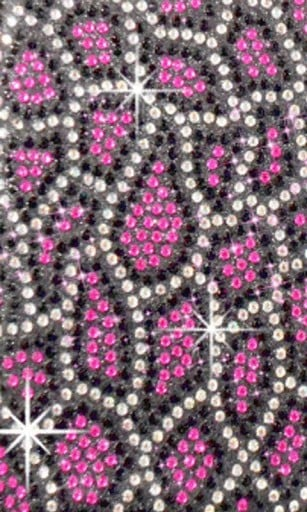 Pink rhinestone background