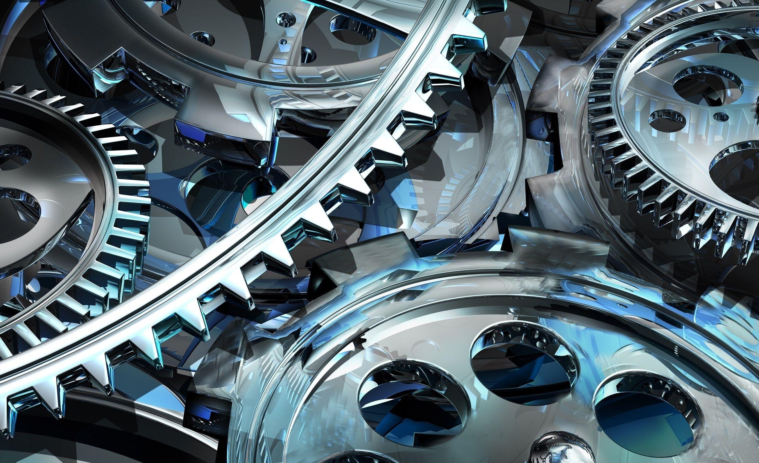 Download wallpaper 2558x1562 gear art mechanism hd background 2558x1562