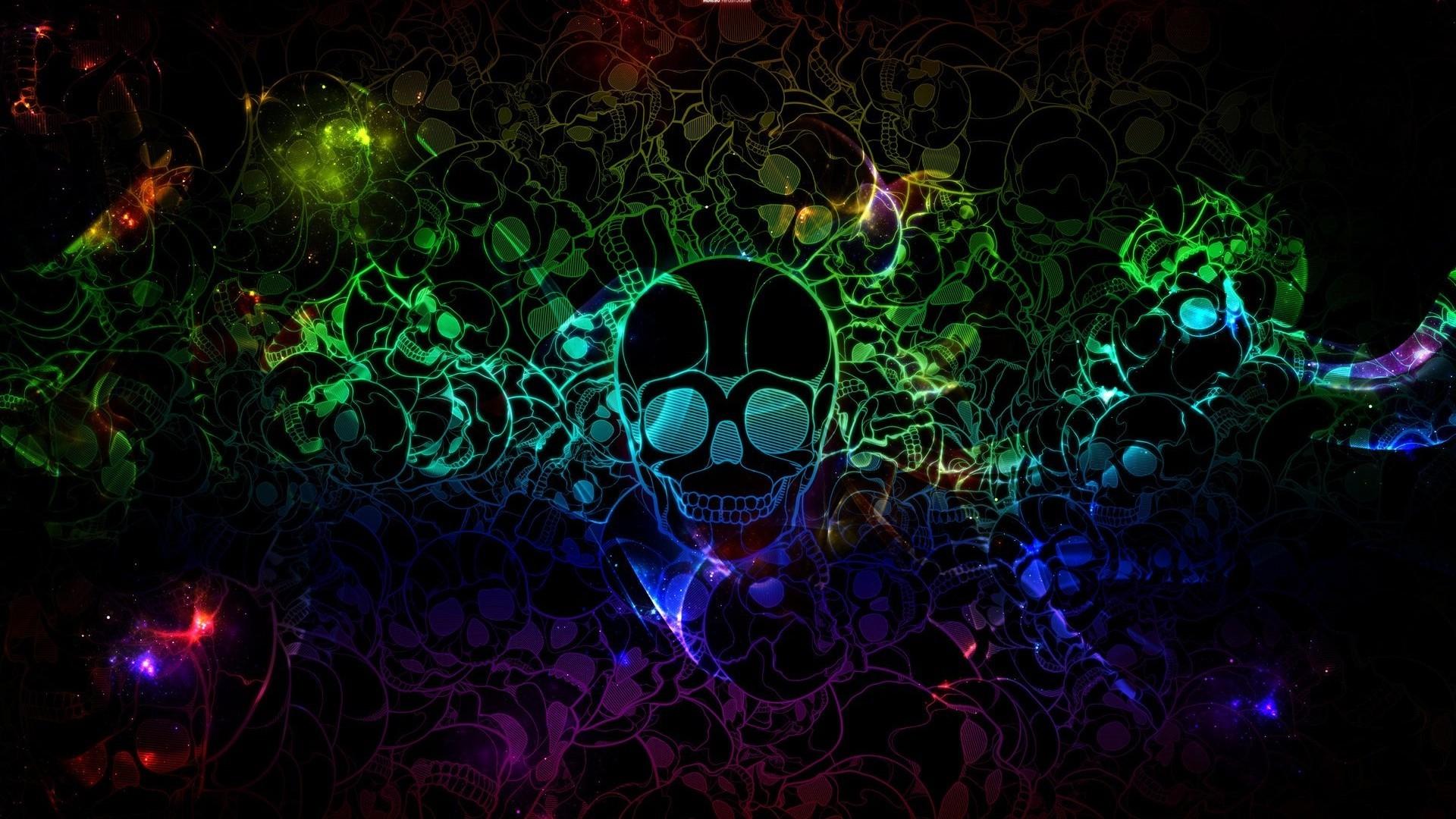 Cool Backgrounds Of Skulls - WallpaperSafari