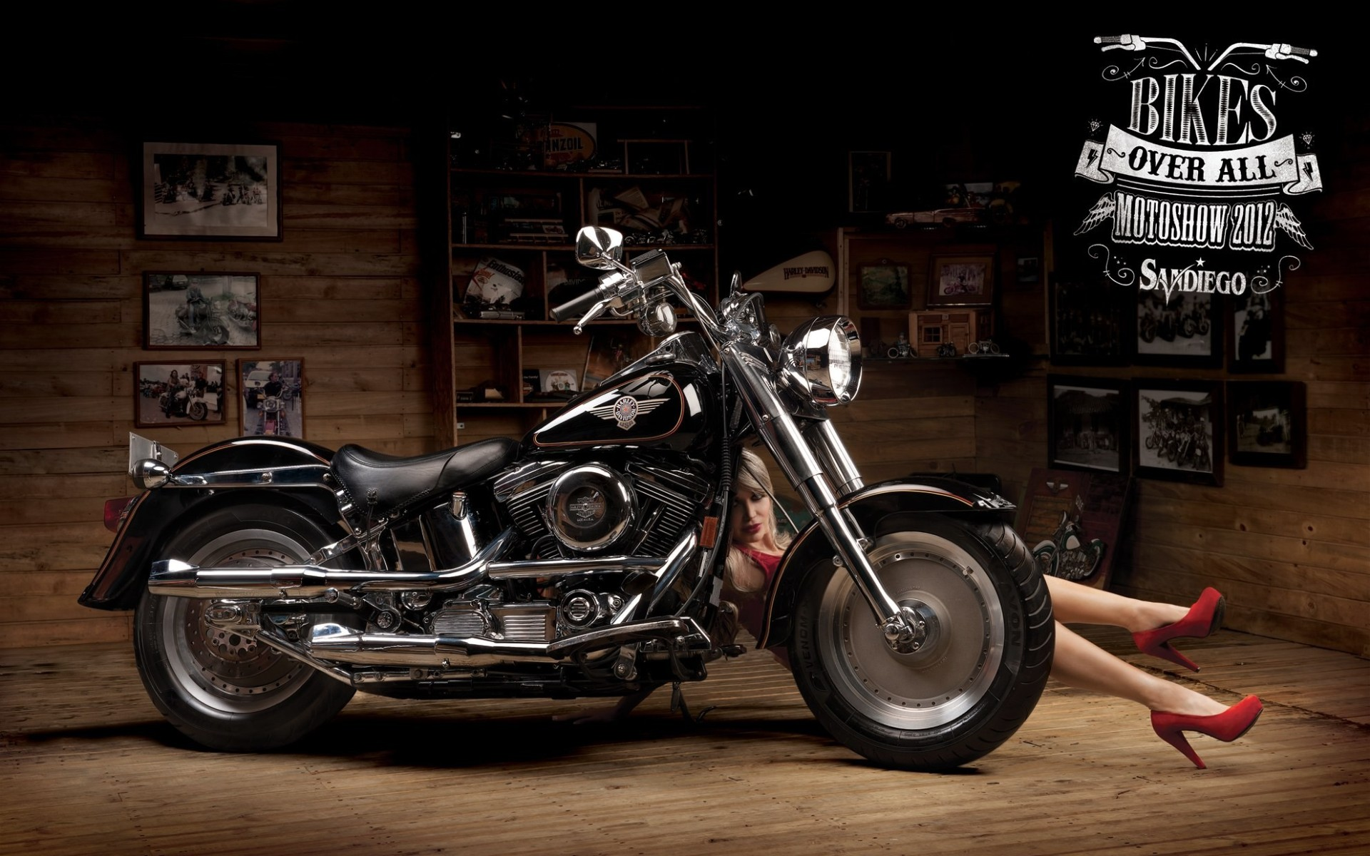 Harley Davidson Wallpaper HD Widescreen 1920x1200