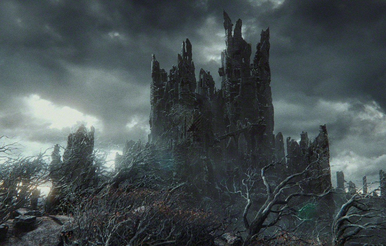 Wallpaper Fortress The hobbit Sauron Dol Guldur images for 1332x850