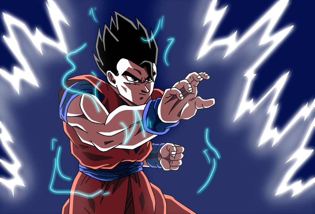 Ultimate gohan wallpaper wallpapersafari - Teen gohan wallpaper ...