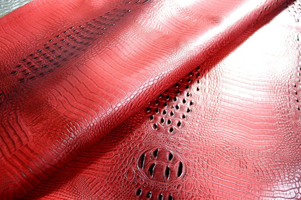 Embossed Alligator Crocodile Upholstery Faux Leather Wallpaper eBay 1000x666
