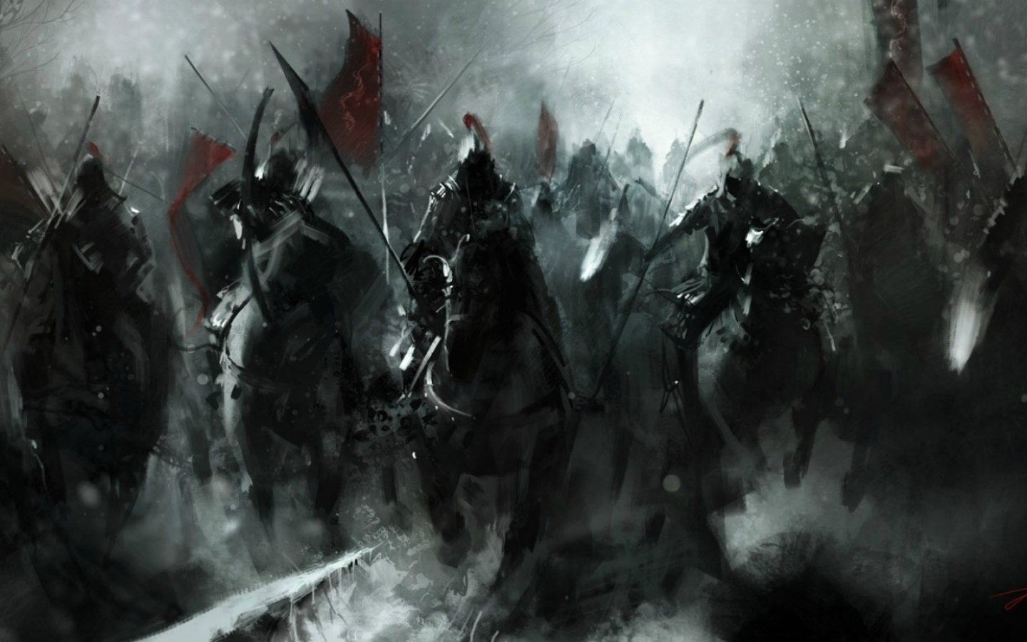 Beginning of Epic Battle wallpaper   ForWallpapercom 1440x900