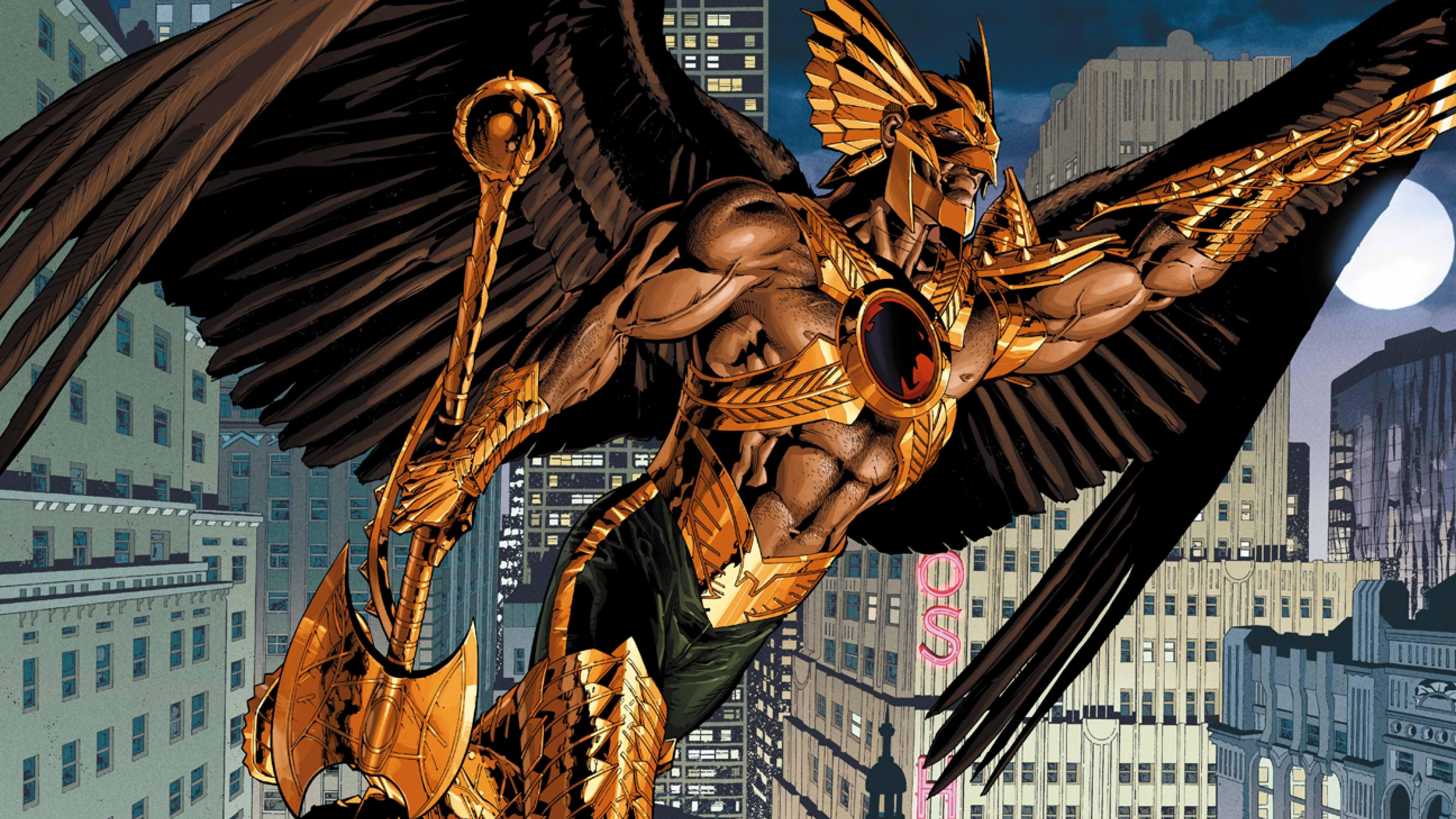 Comics   Hawkman Wallpaper 5400x3037