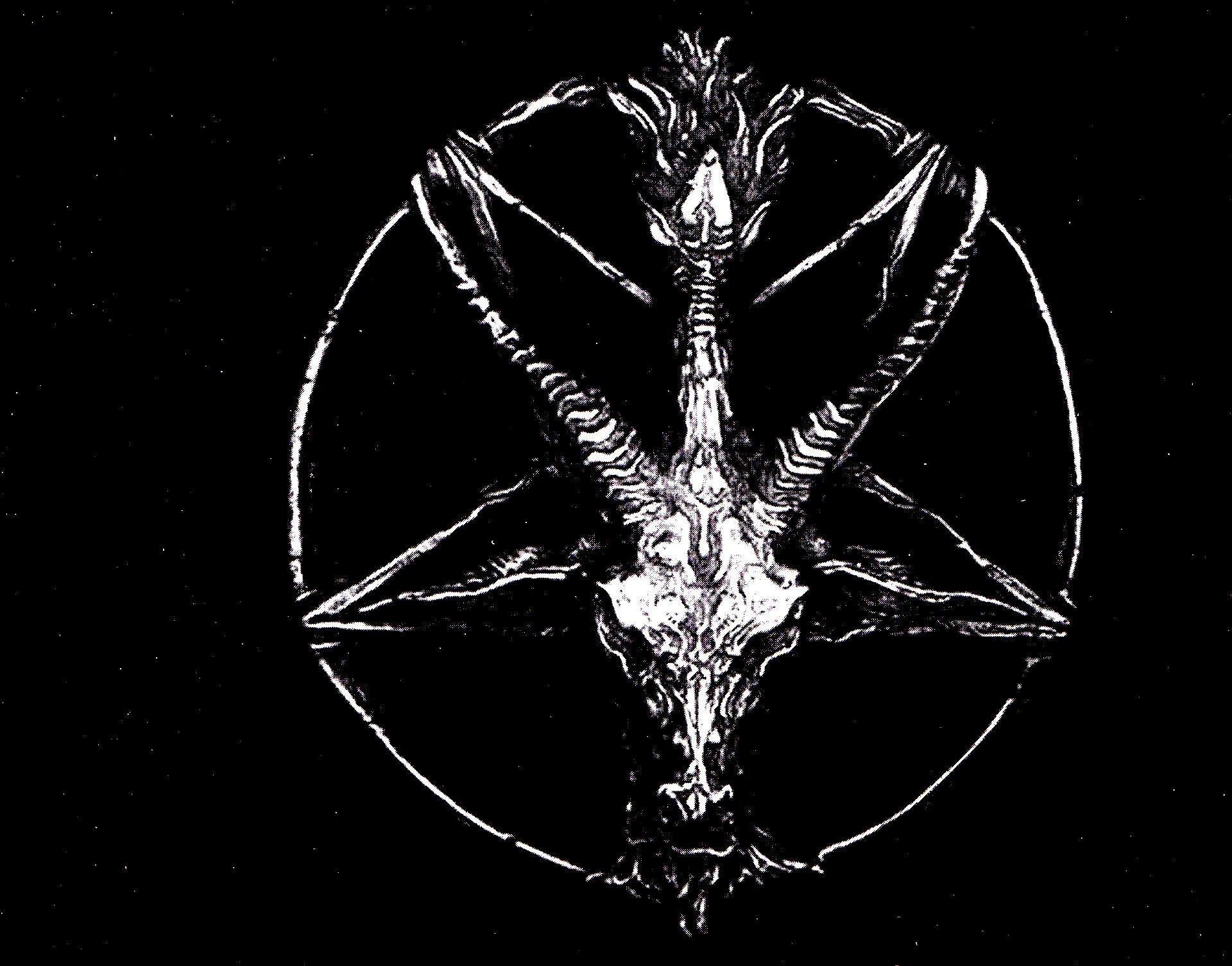 metal heavy satanic satan pentagram occult evil g wallpaper background 1920x1505