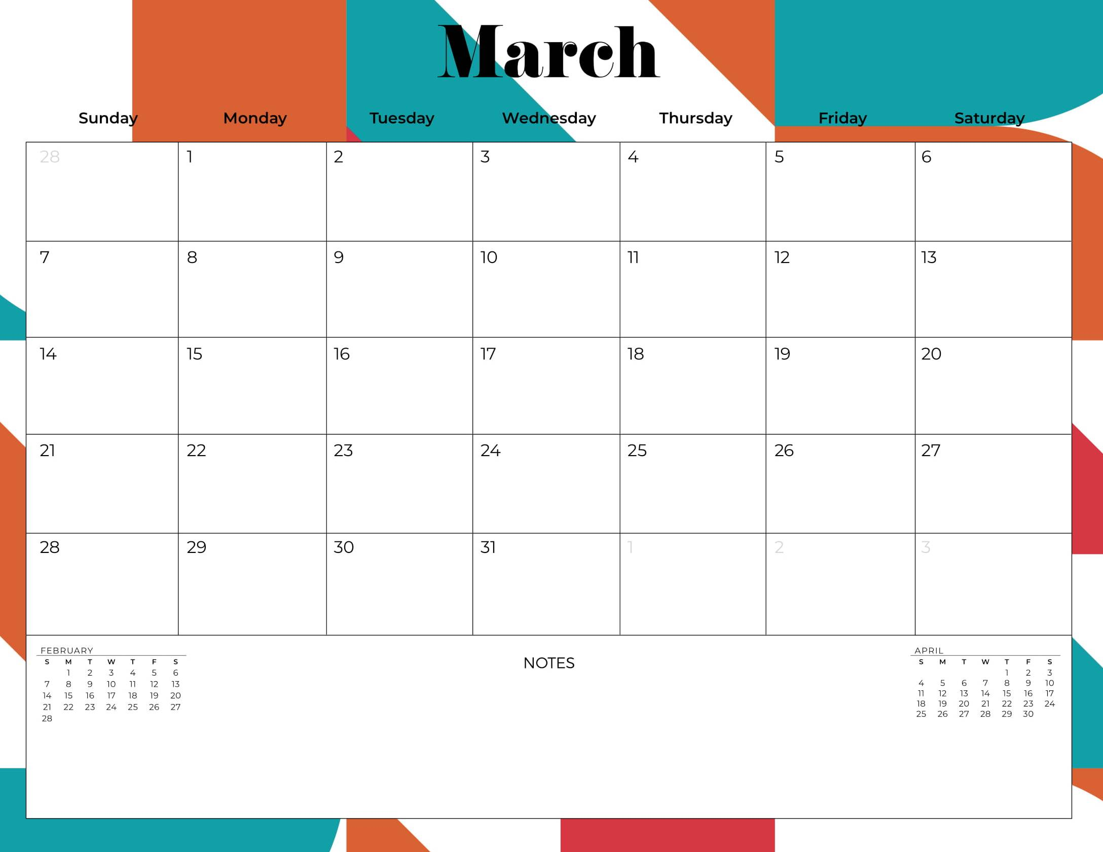 Cute March 2021 Calendar Floral Printable   Web Galaxy Coder Cute