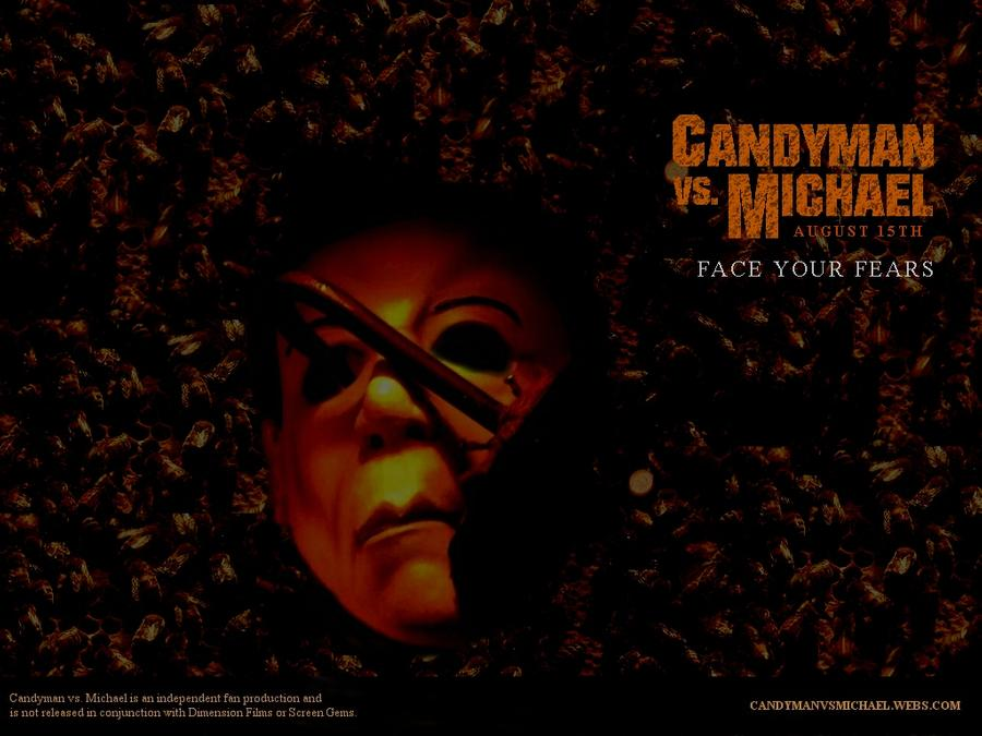 Candyman vs Michael Wallpaper 2 by CaptainKukule 900x675