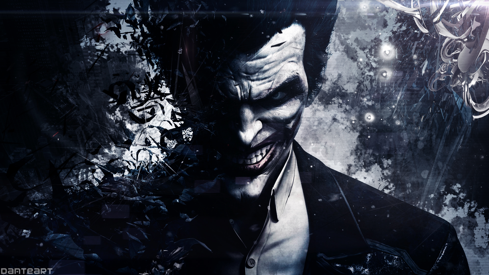 arkham origins joker wallpaper by danteartwallpapers fan art wallpaper 1920x1080