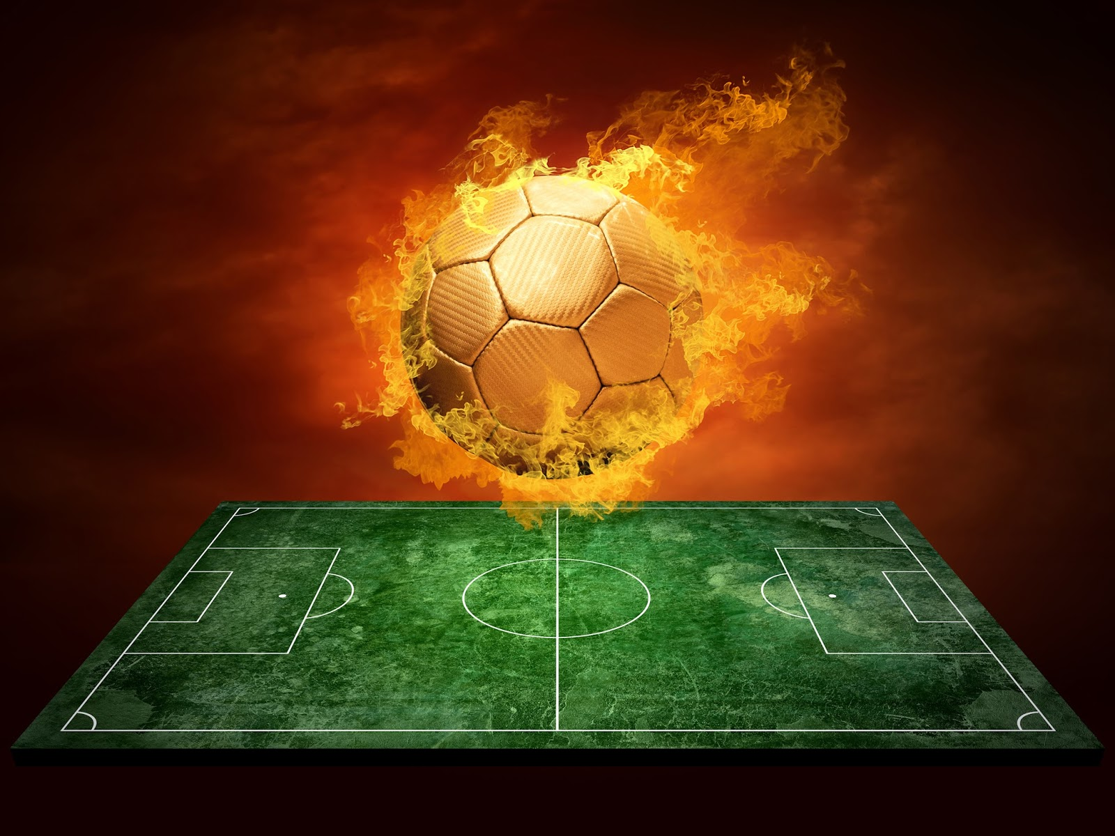 Soccer Field Wallpaper - WallpaperSafari