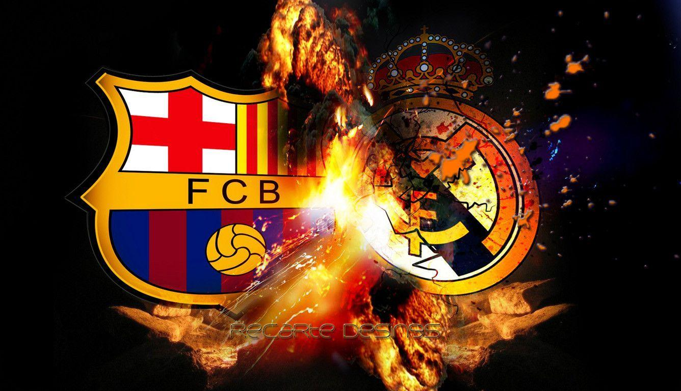Real Madrid Vs Barcelona Wallpapers 1336x768