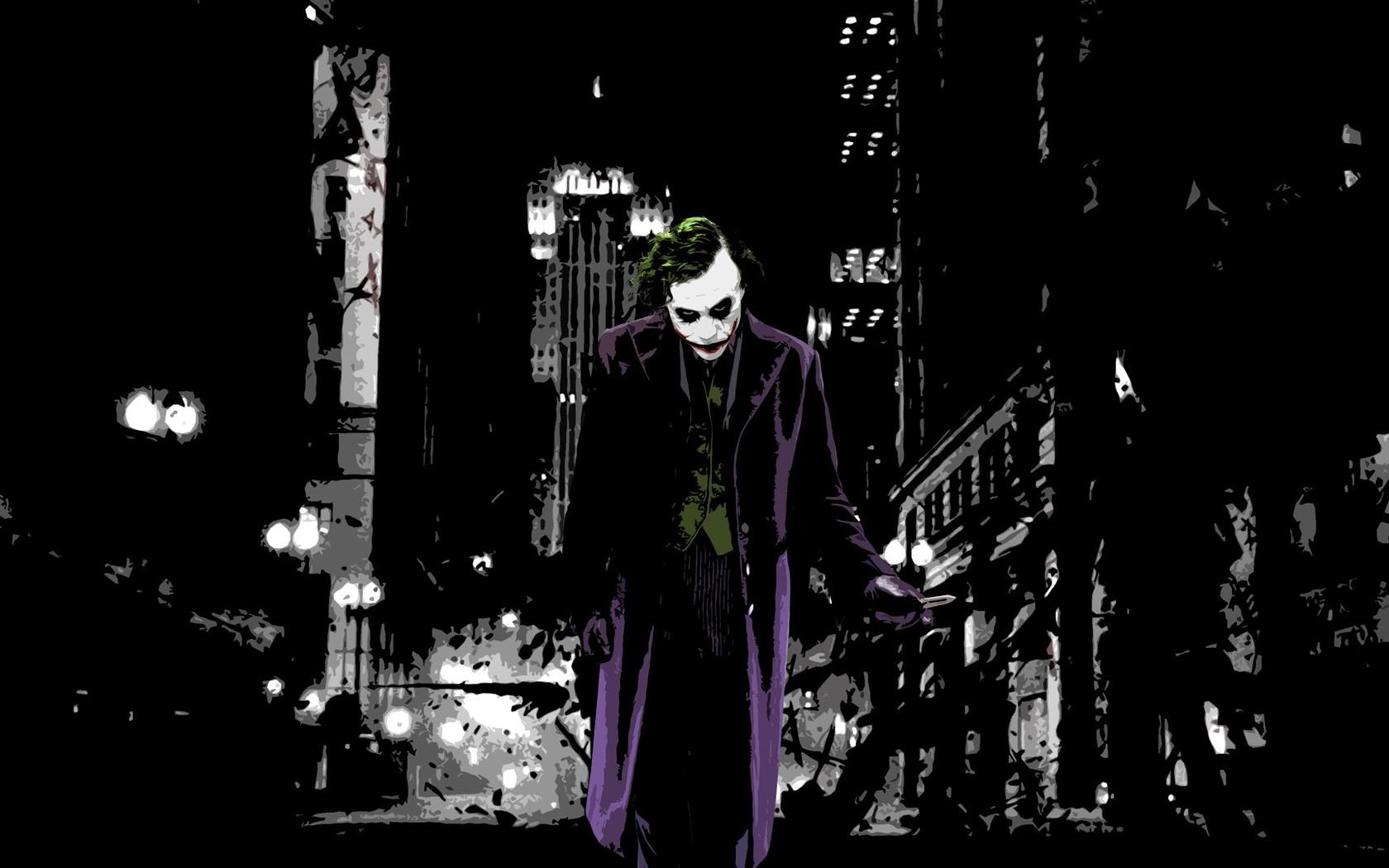 The Joker   The Dark Knight wallpaper 4989 1680x1050