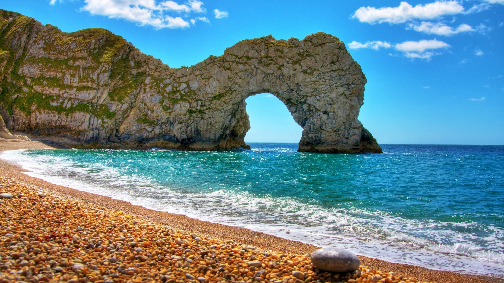 Spain Durdle Door sea wallpaper 1920x1080 61685 WallpaperUP 1920x1080