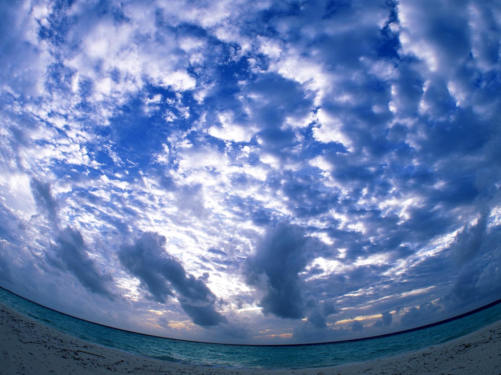Wallpapers Unseen Beutiful Sky Water Cloud Hd Desktop Wallpapers 1600x1200