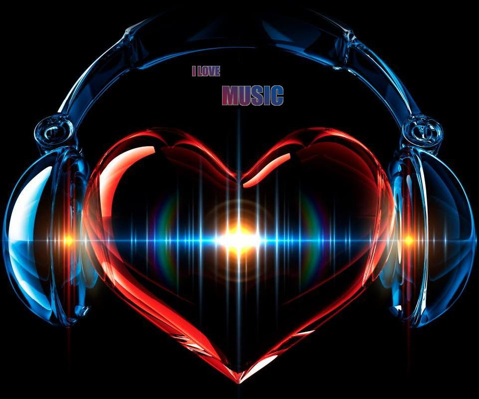 I Love Music Wallpaper - WallpaperSafari