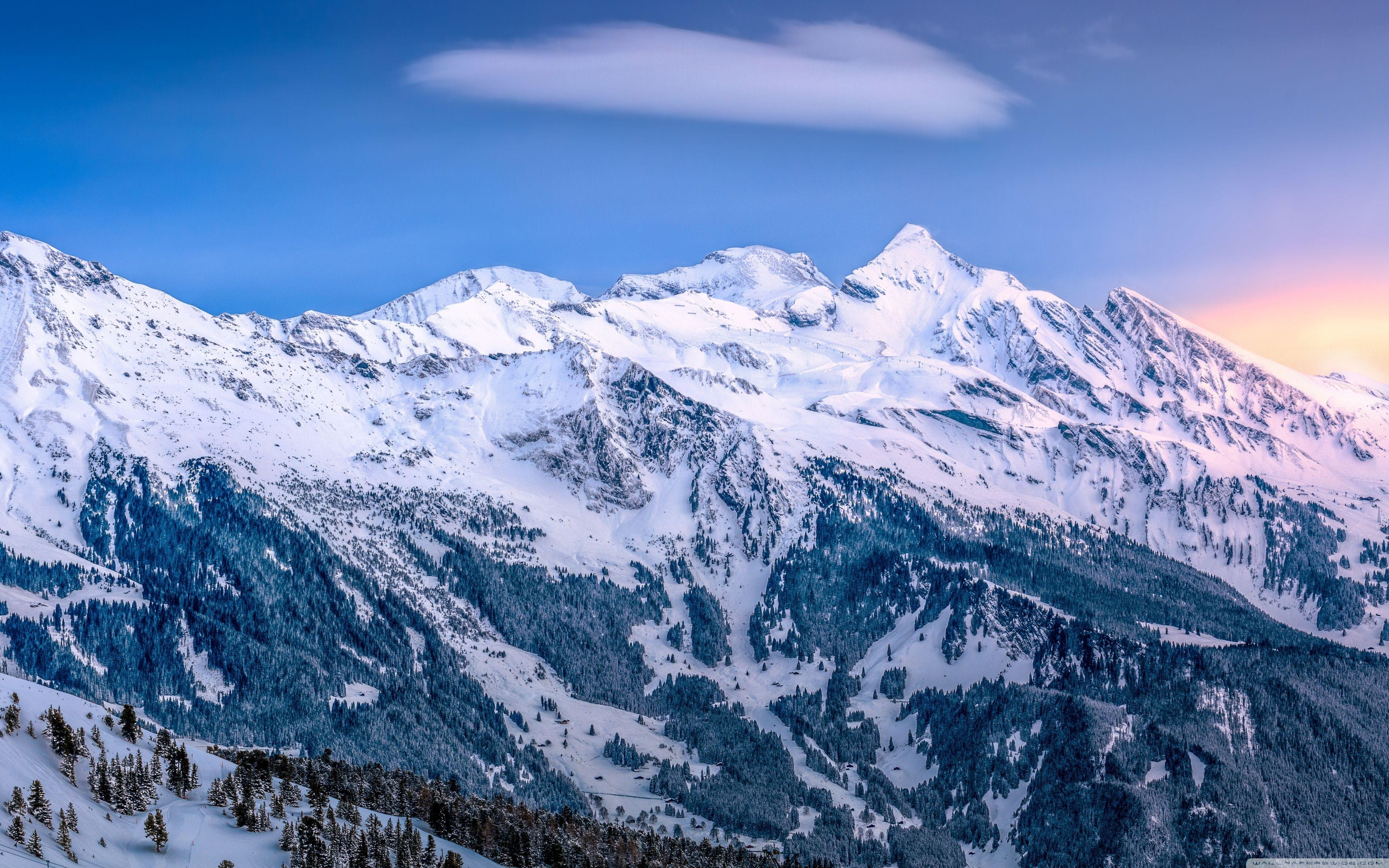 Ski Slope Wallpapers   Top Ski Slope Backgrounds 3840x2400