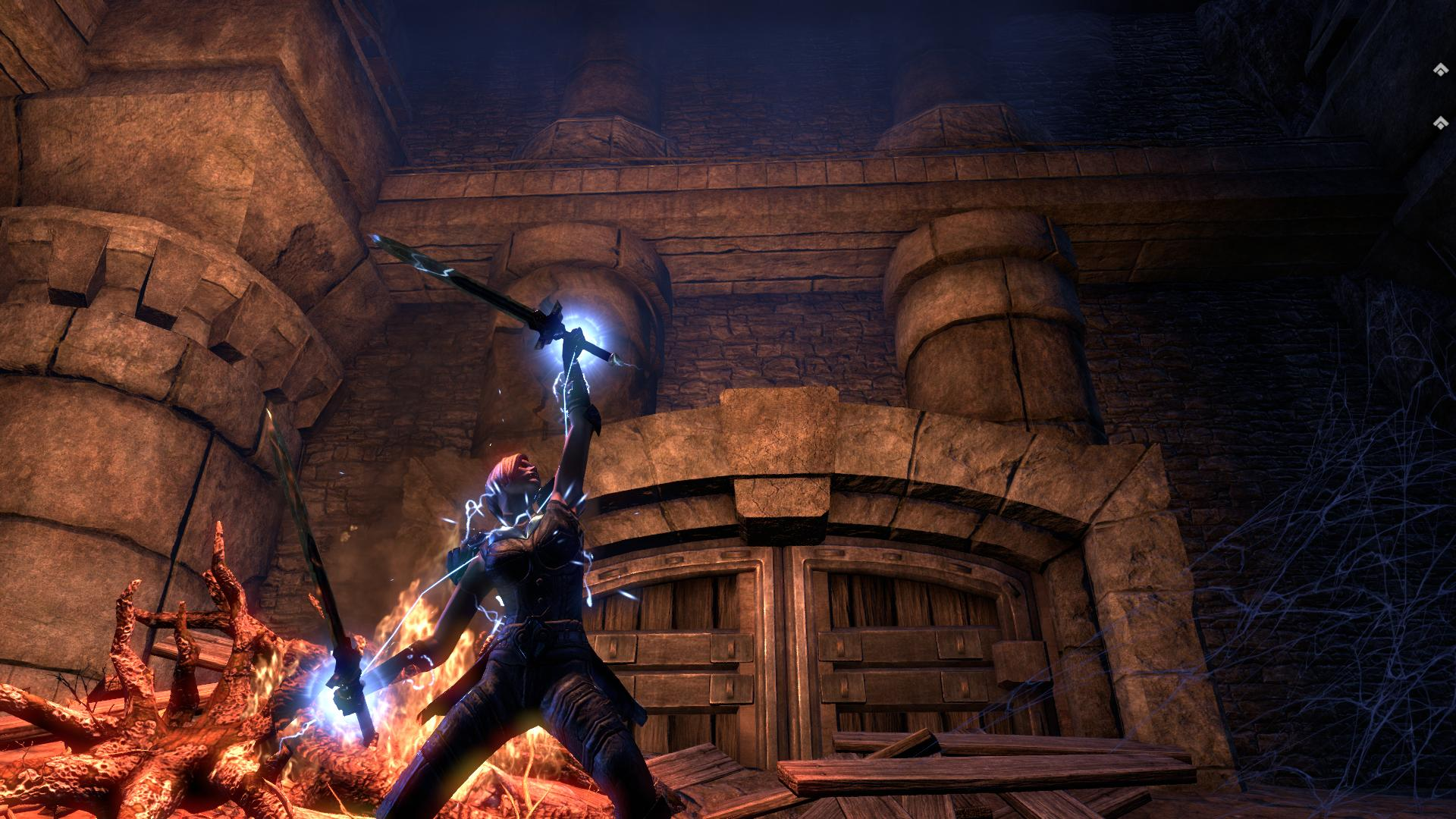 ESO Sorcerer DPS Build the Lighting Tornado 1920x1080