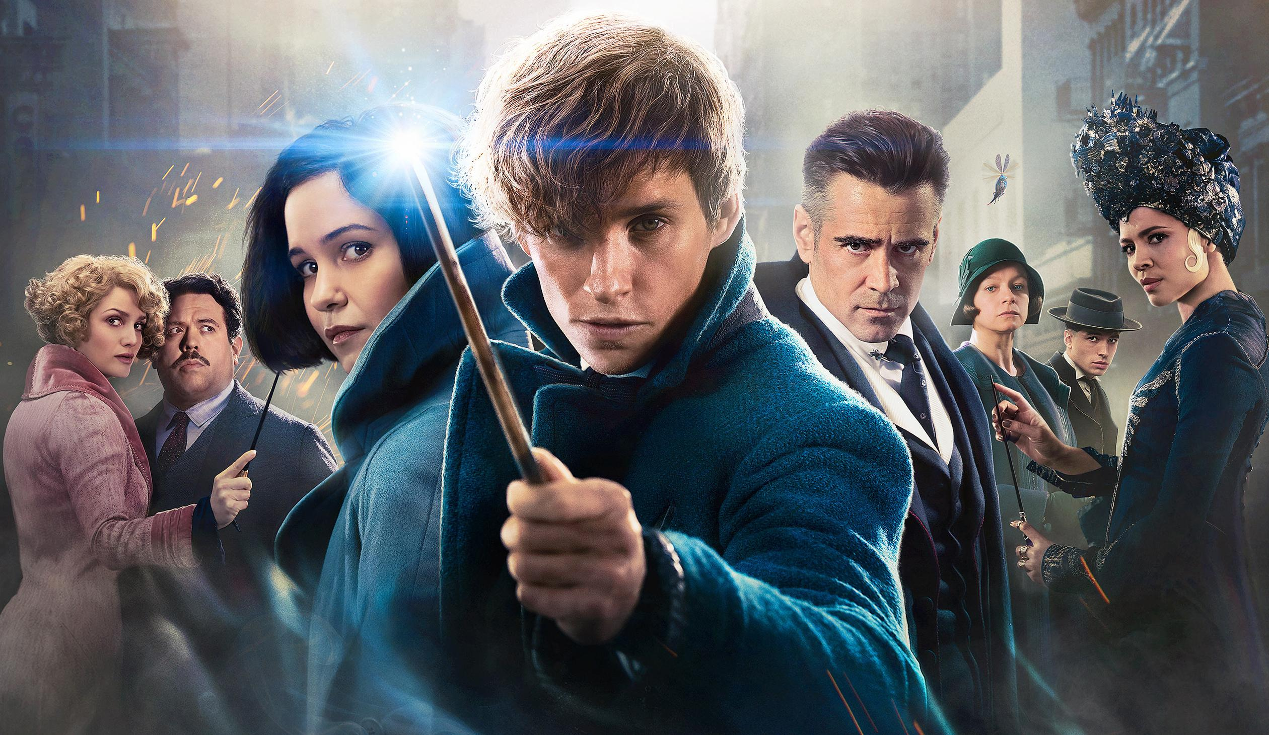 19 Fantastic Beasts and Where to Find Them HD Wallpapers 2520x1460