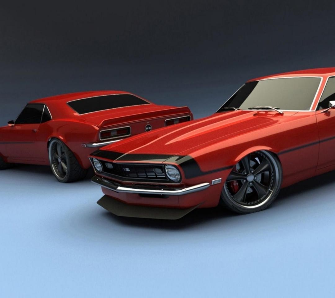 Chevrolet Car Wallpaper: 1969 Camaro Wallpapers And Screensavers