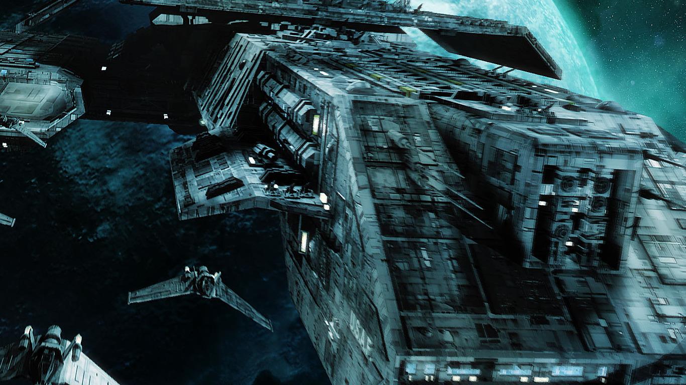 Stargate Spaceships Wallpaper 1366x768 Stargate Spaceships Vehicles 1366x768