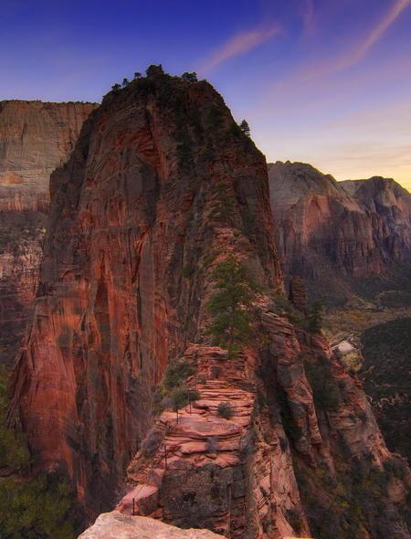 Landing in Zion National Park Wallpaper for Amazon Kindle Fire HD 7 450x590