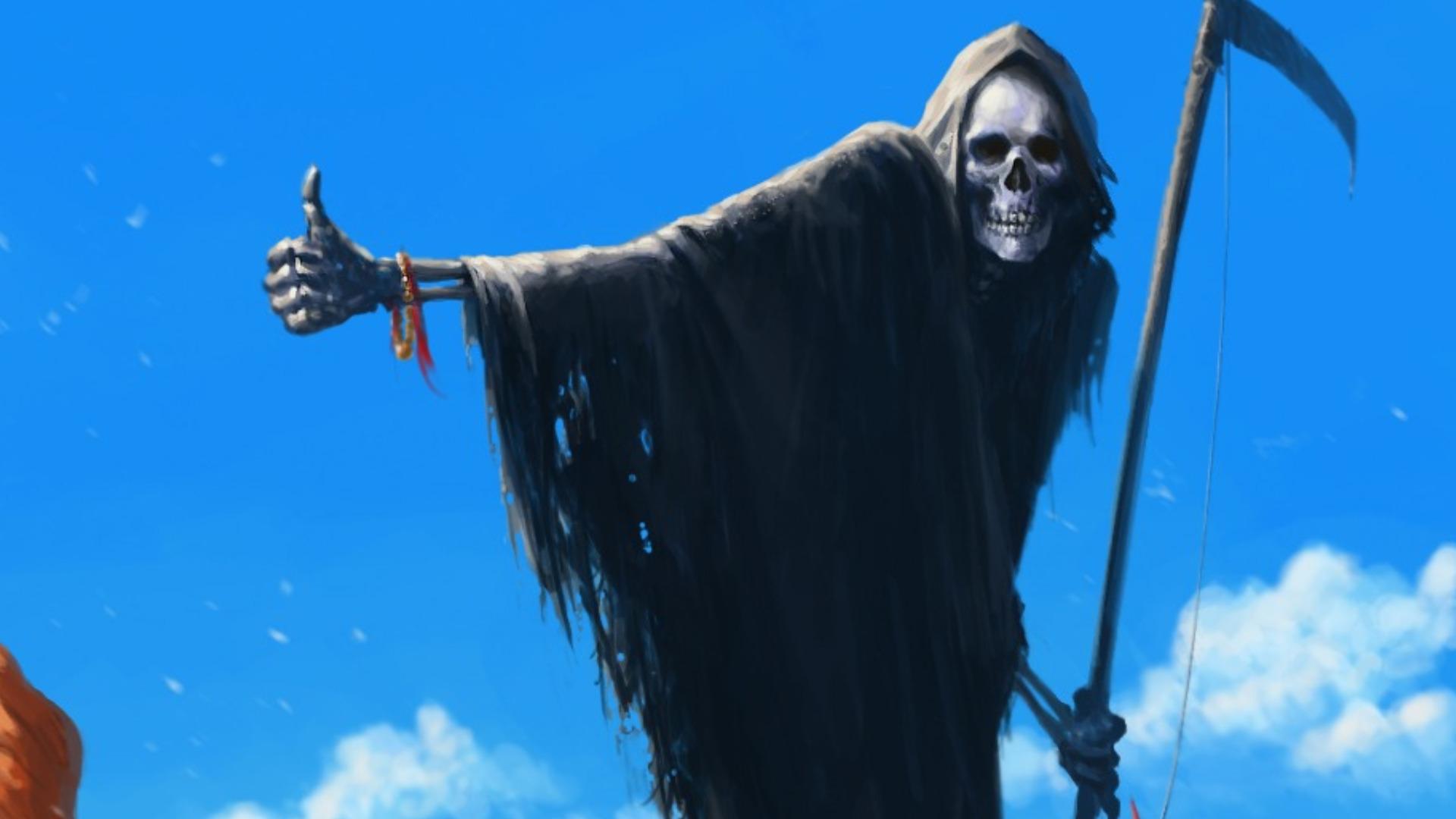 42 Scary Grim Reaper Wallpaper On Wallpapersafari
