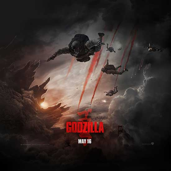Godzilla 2014 wallpaper ipad 550x550