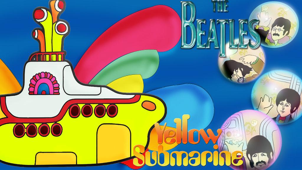 Beatles Yellow Submarine Wallpaper The Beatles Yellow Submarine 1024x576