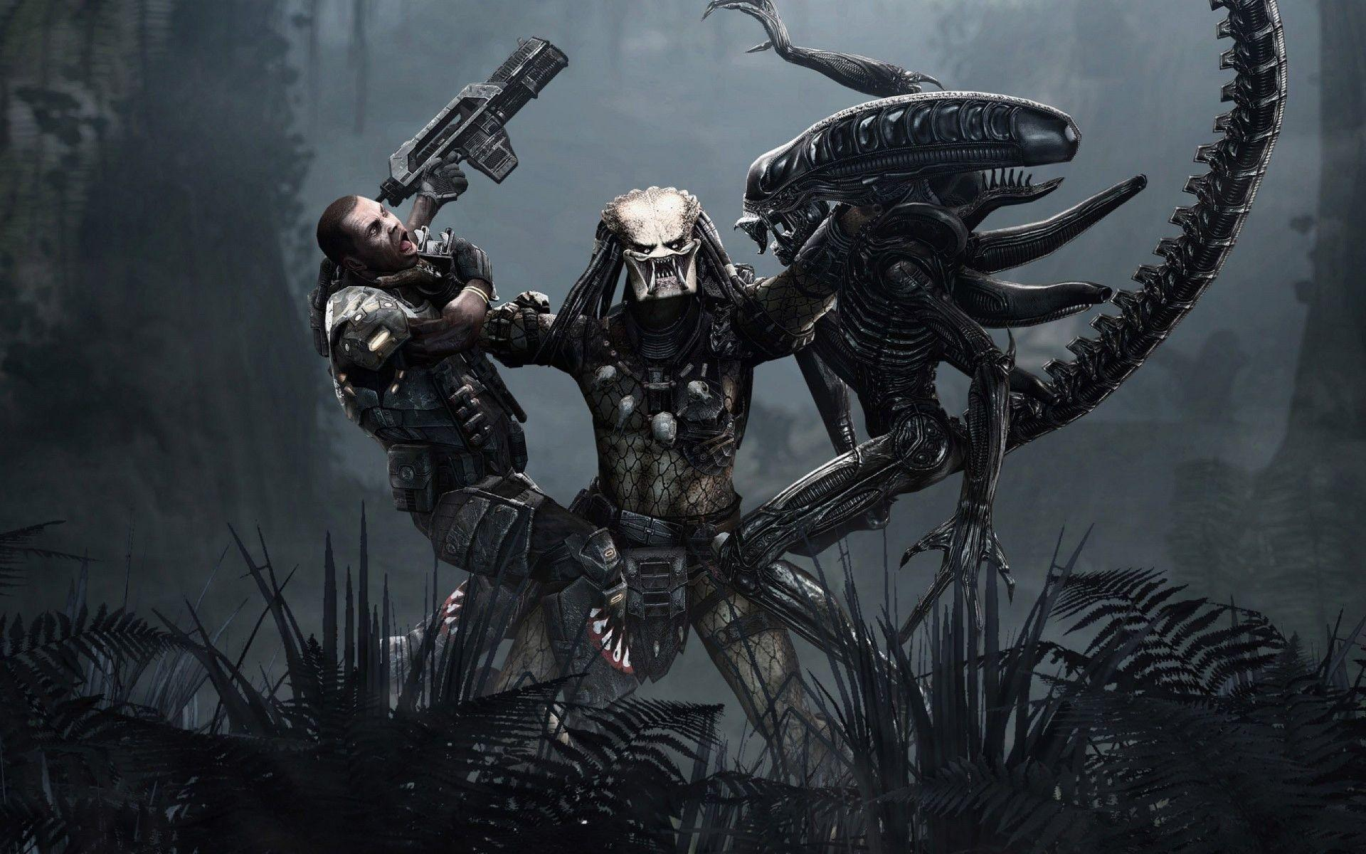 Alien Vs Predator Wallpapers 1920x1200