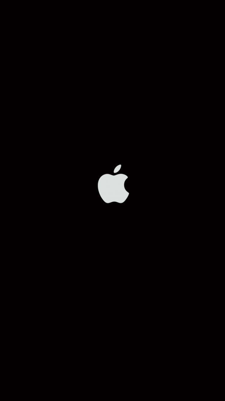 Plain Black iPhone 6 Wallpaper 27063   Logos iPhone 6 Wallpapers 750x1334