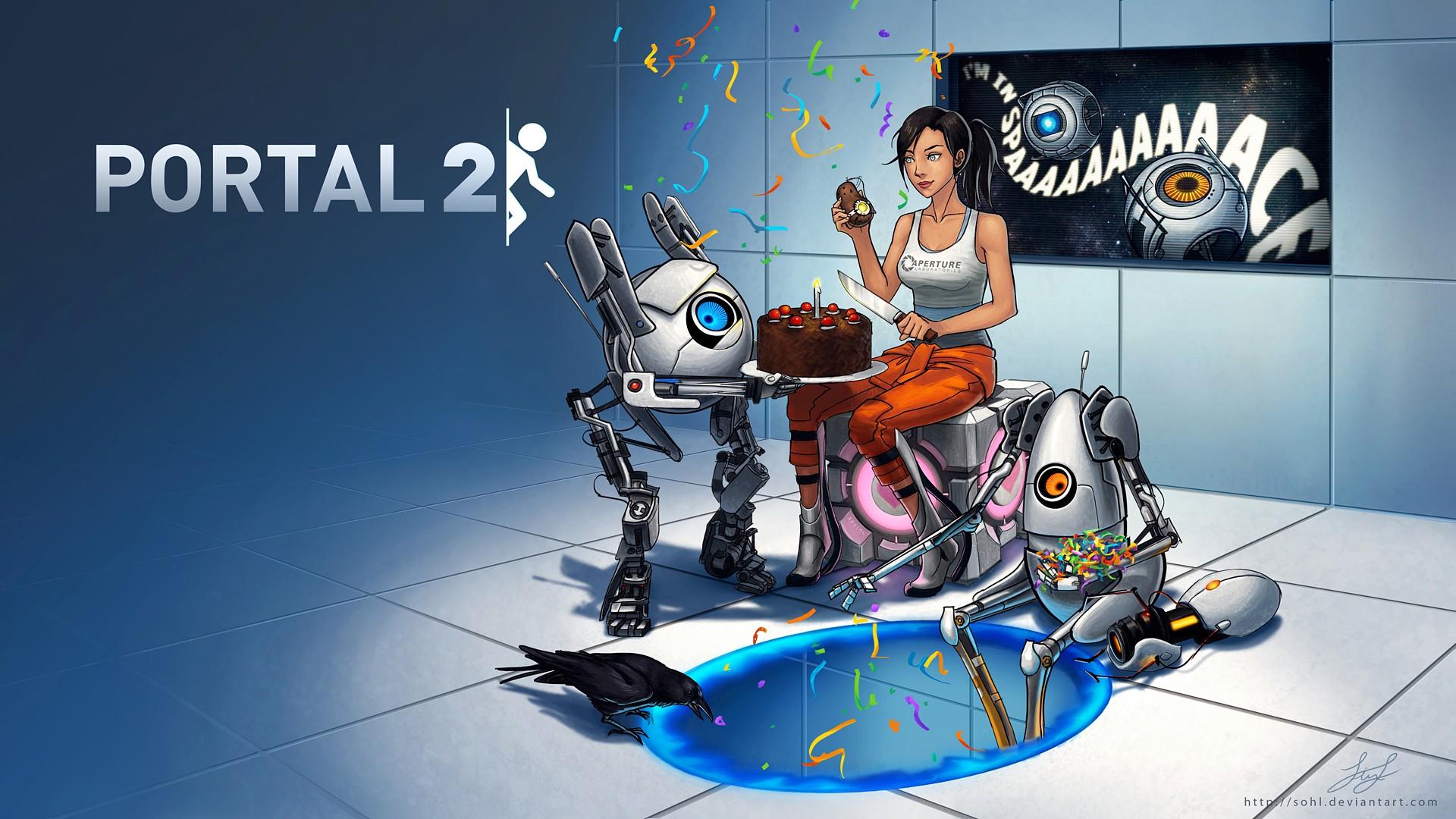 Portal 2   Portal 2 Wallpaper 30863491 1920x1080