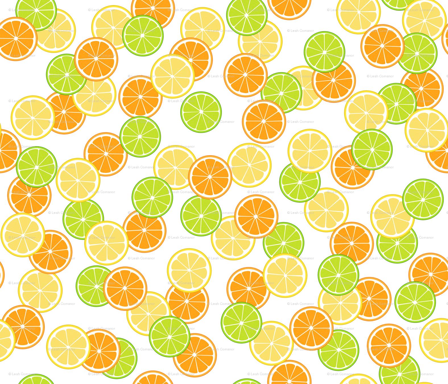 Free Download Lemon Pattern Wallpaper Rcitrus Swatch Contest