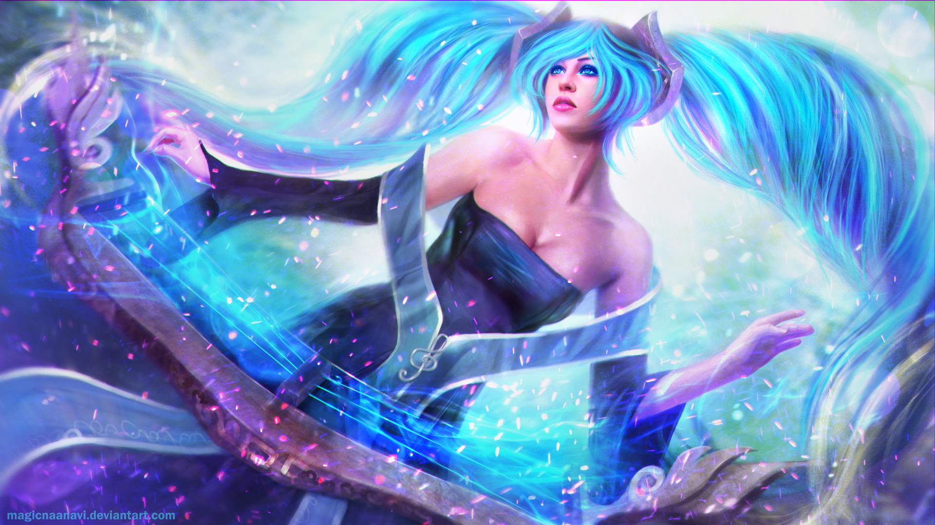 Sona League of Legends Wallpapers HD Wallpapers 1920x1080