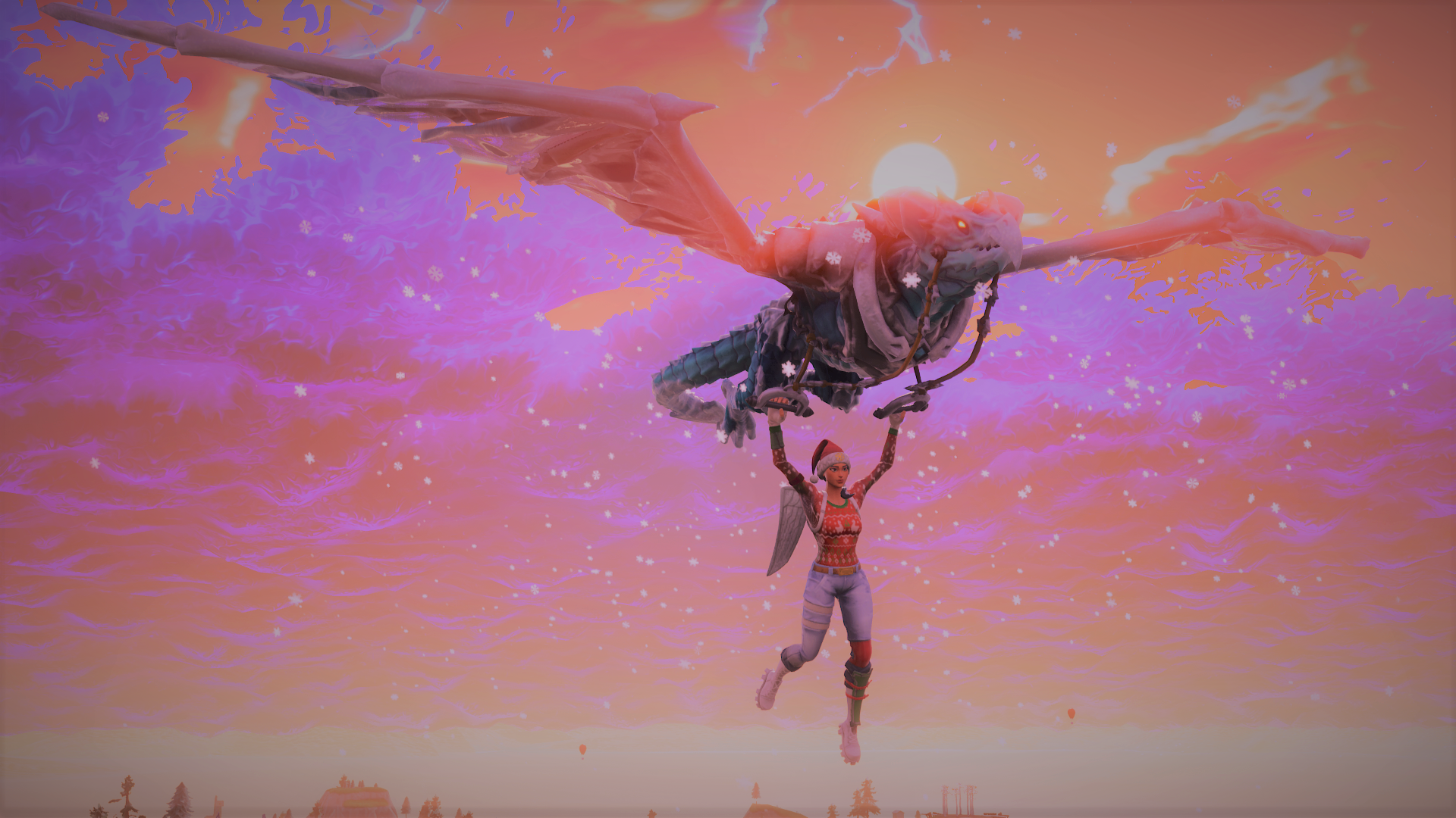 Some background pics of the new Glider with Nog Ops FortNiteBR 1920x1080