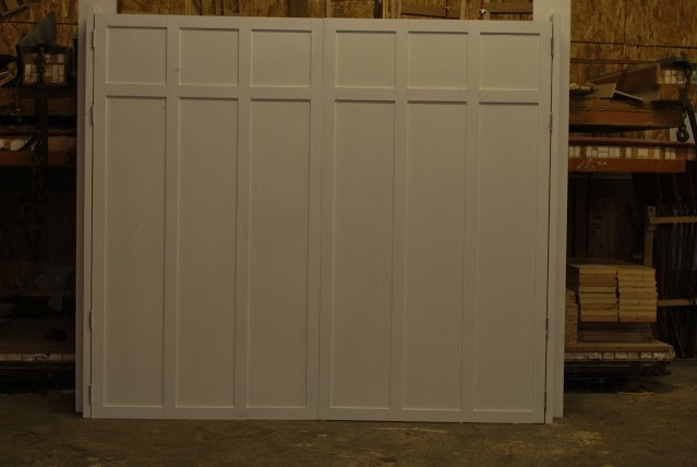 Horizontal weathered barn wood wallpaper wallpapersafari for Oversized garage doors
