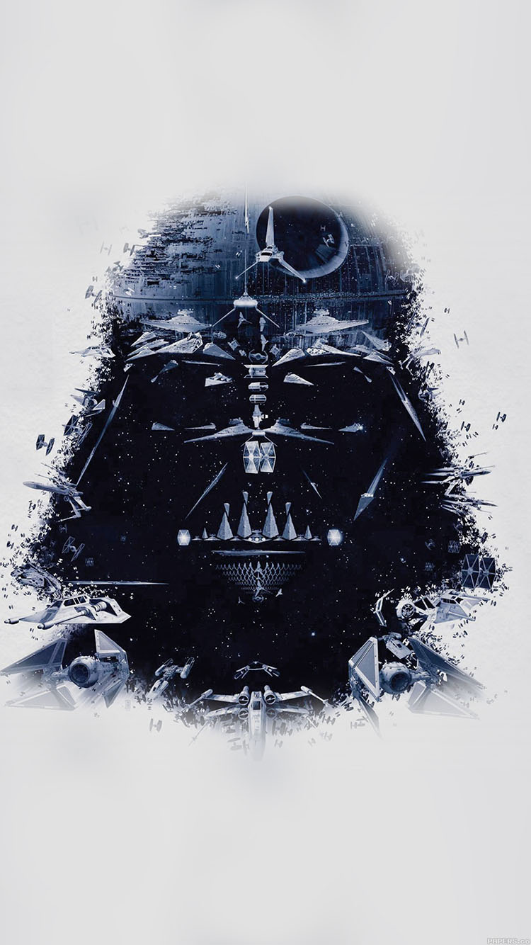 Iphone Wallpaper Star Wars Darth Vader Art photos of Epic Star Wars 750x1334