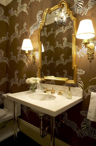 brown bathroom wallpaper 2015   Grasscloth Wallpaper 380x578