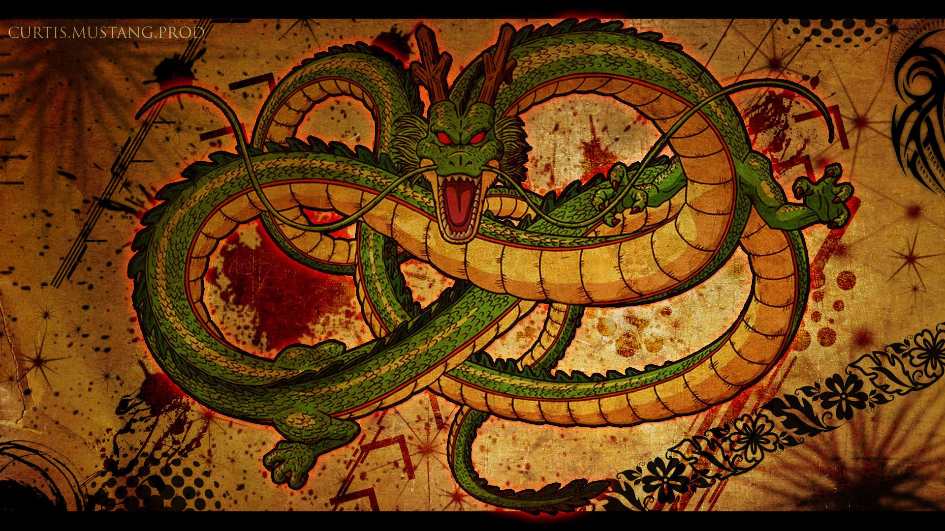 Dragon Ball Z Shenron Dragon Wallpaper 1920 x 1080px 1920x1080