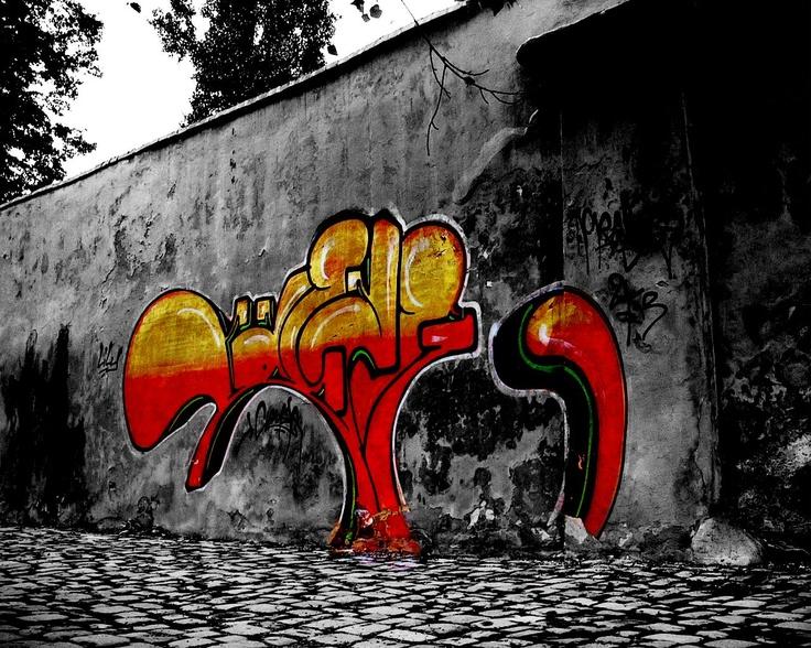 69 Red Graffiti Wallpaper On Wallpapersafari