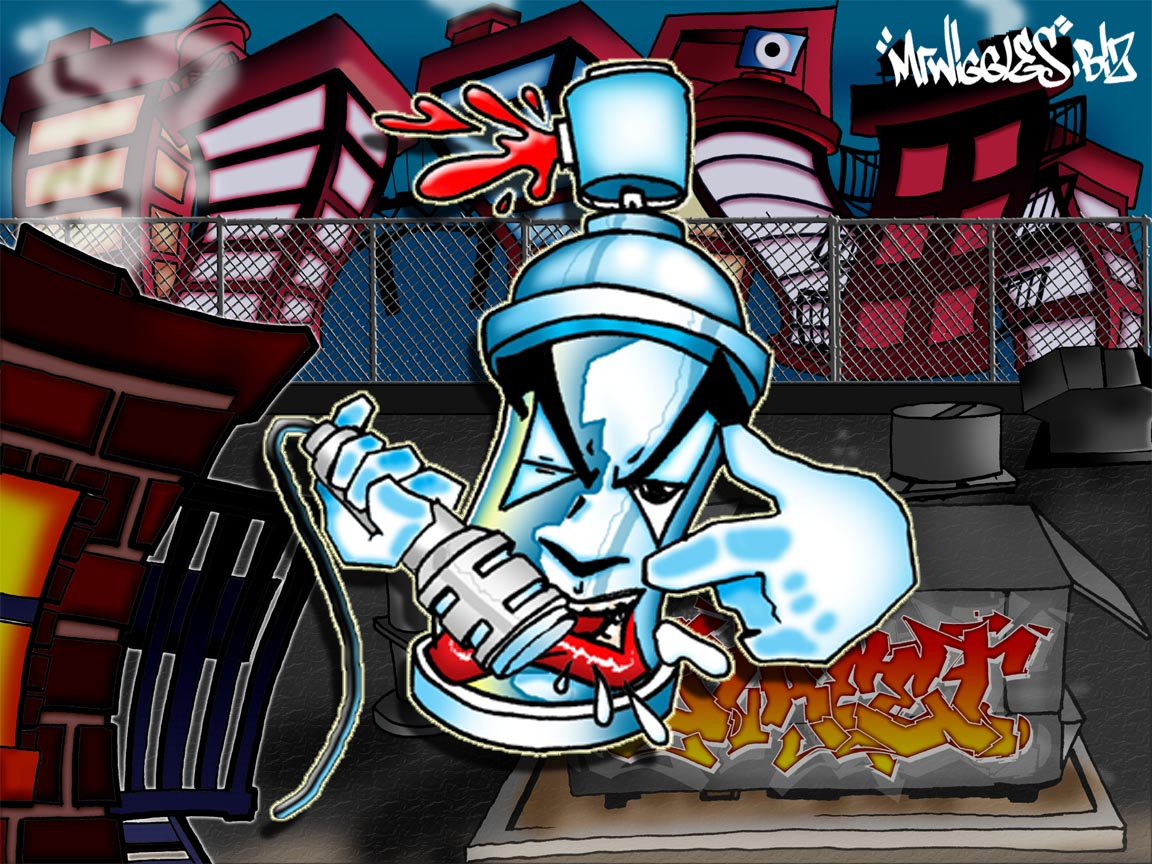 Hip Hop Graffiti Wallpaper - WallpaperSafari