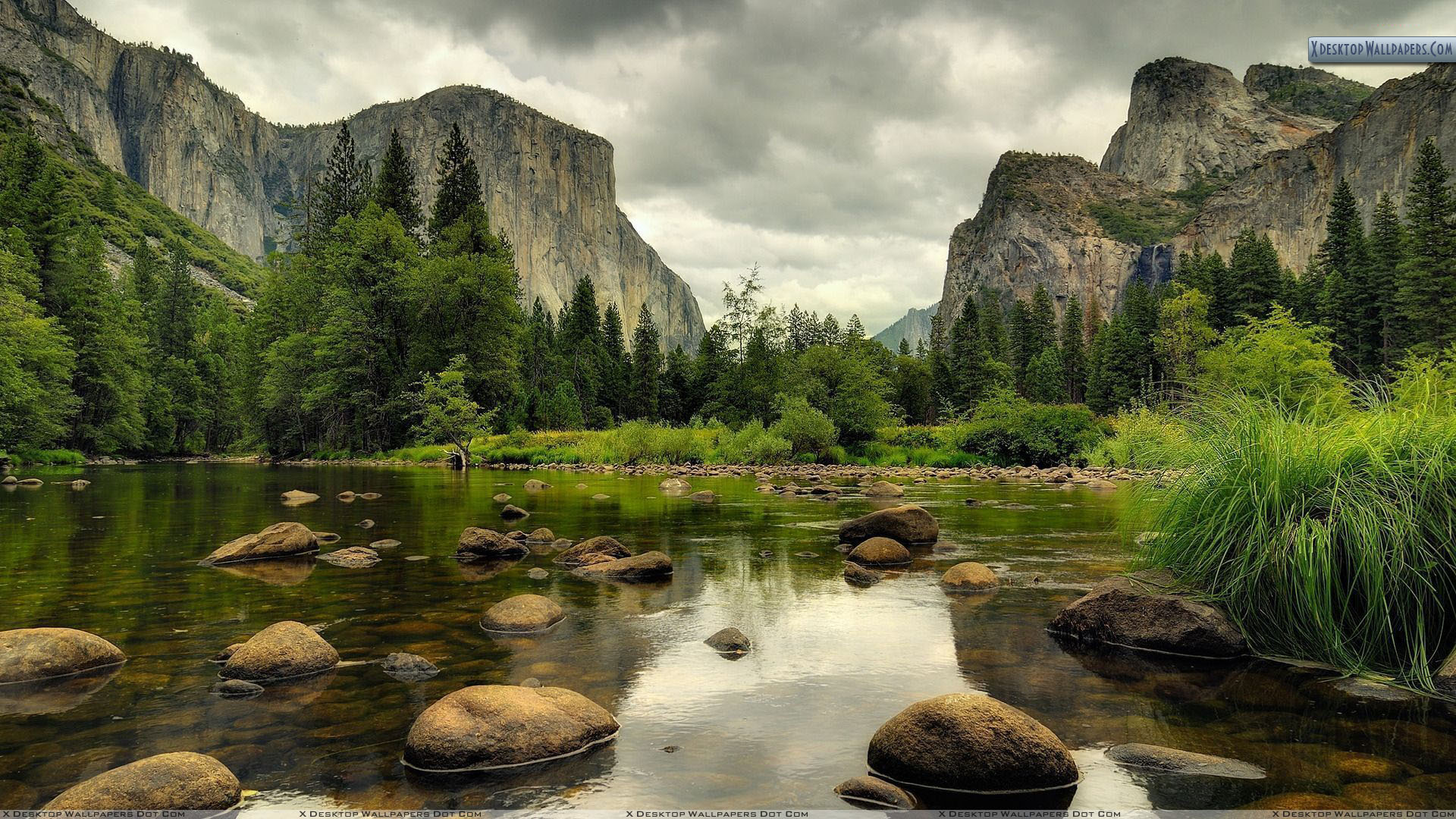Yosemite National Park Nice Scene Wallpaper 1920x1080