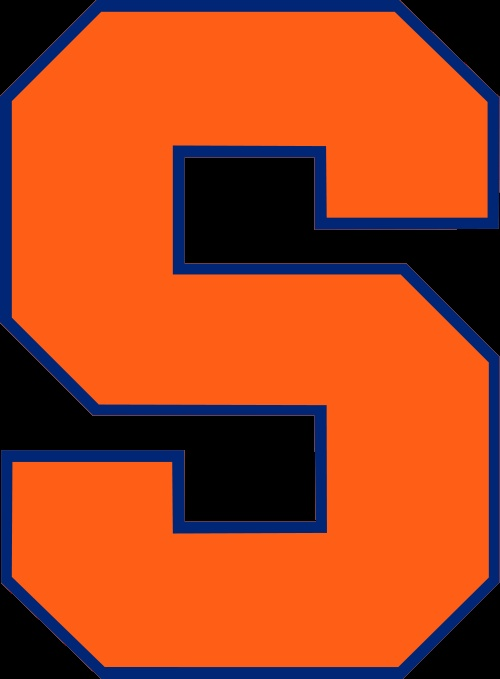 Syracuse Basketball Cool Logo Syracuse orange football team 500x679